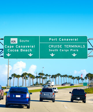 Call (321) 591-0854 for Free Port Canaveral Shuttle Service w/ $7 per Day Cruise Ship Parking. Park Your Vehicle with us and Get Free Shuttle Service!
